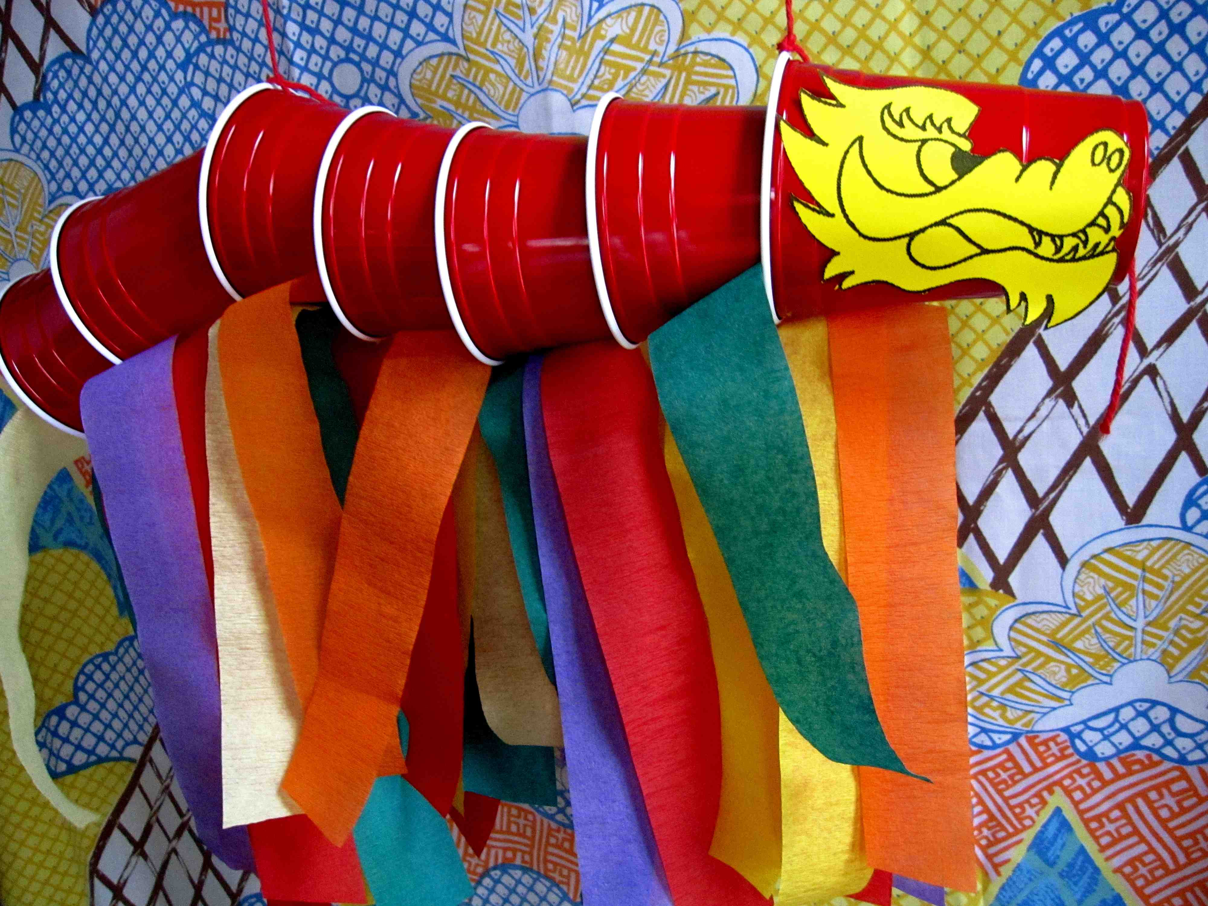 Lunar new year crafts - Chinese New Year Storytime