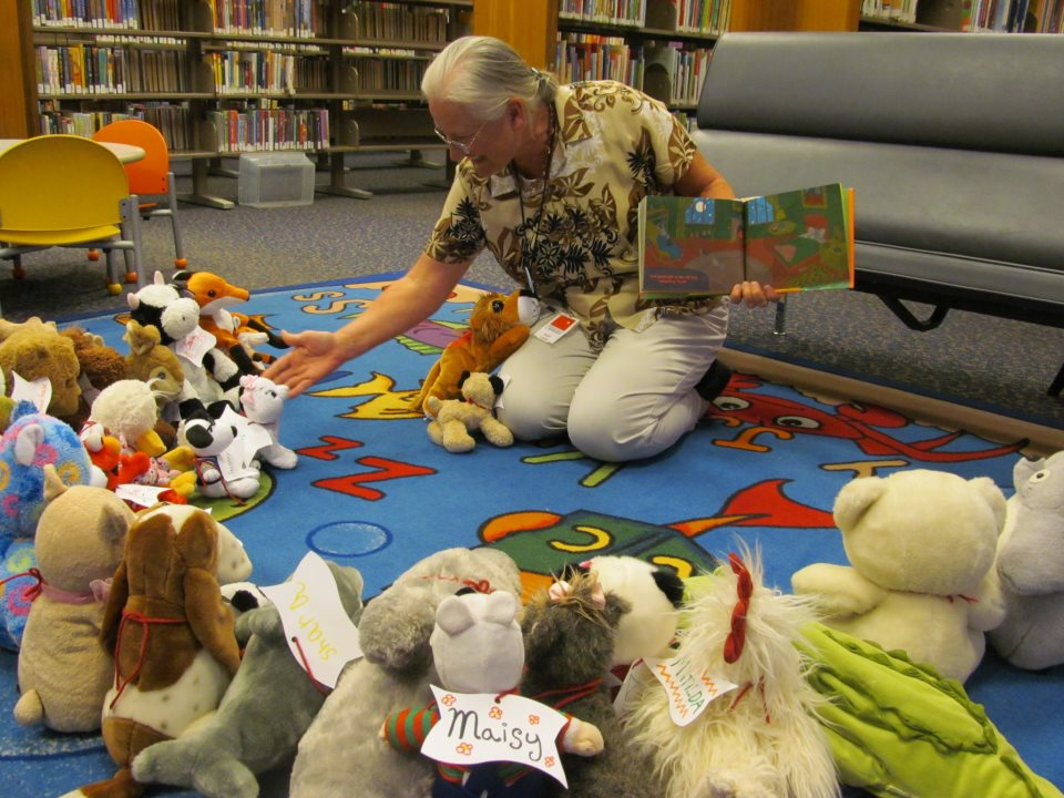Stuffed Animal Sleepover and Storytime