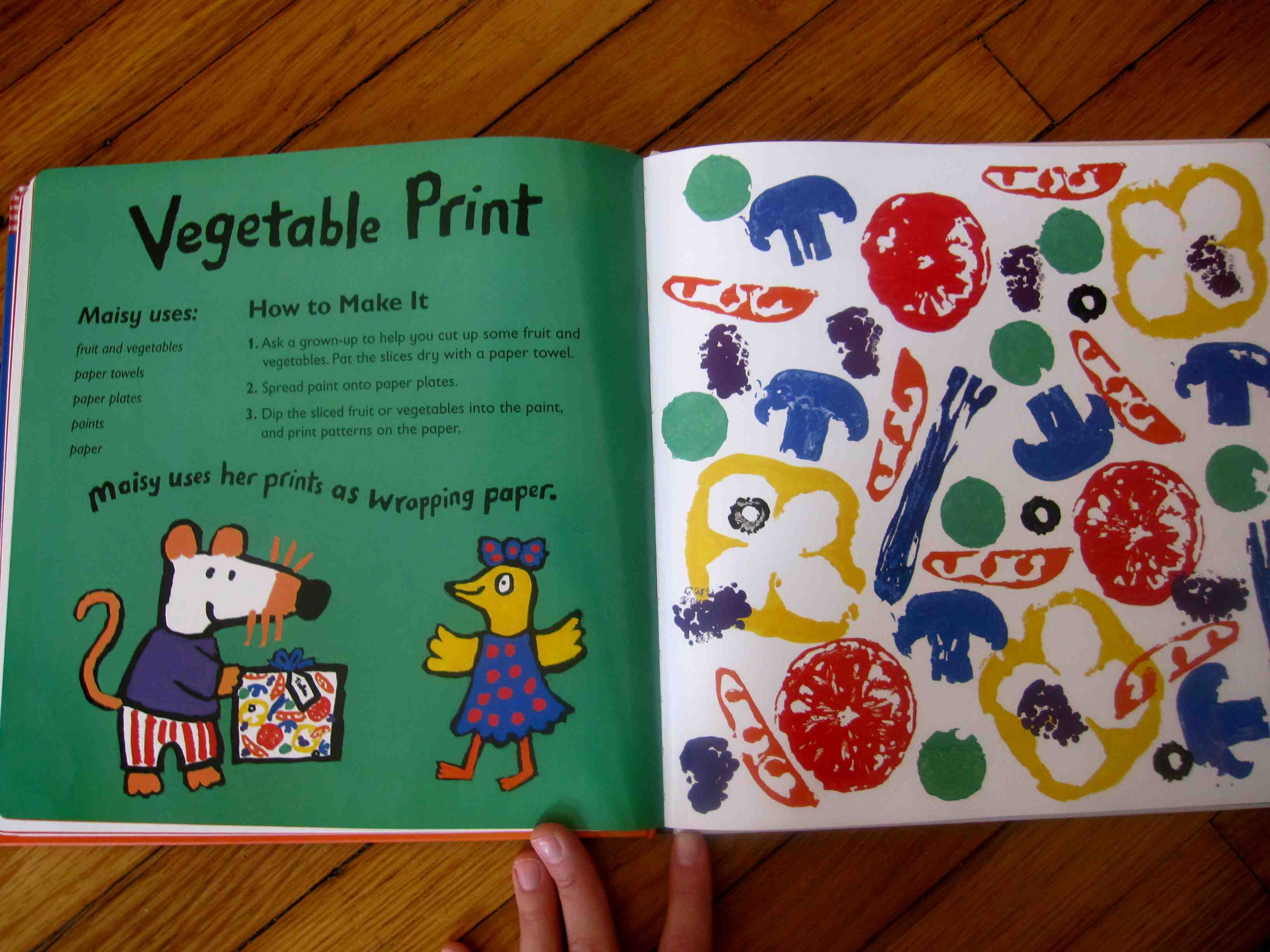 create with maisy a first arts and crafts book sturdy for