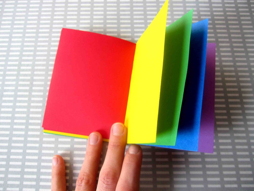 How To Make A Book Cover With Construction Paper ~ How to make a book with construction paper images