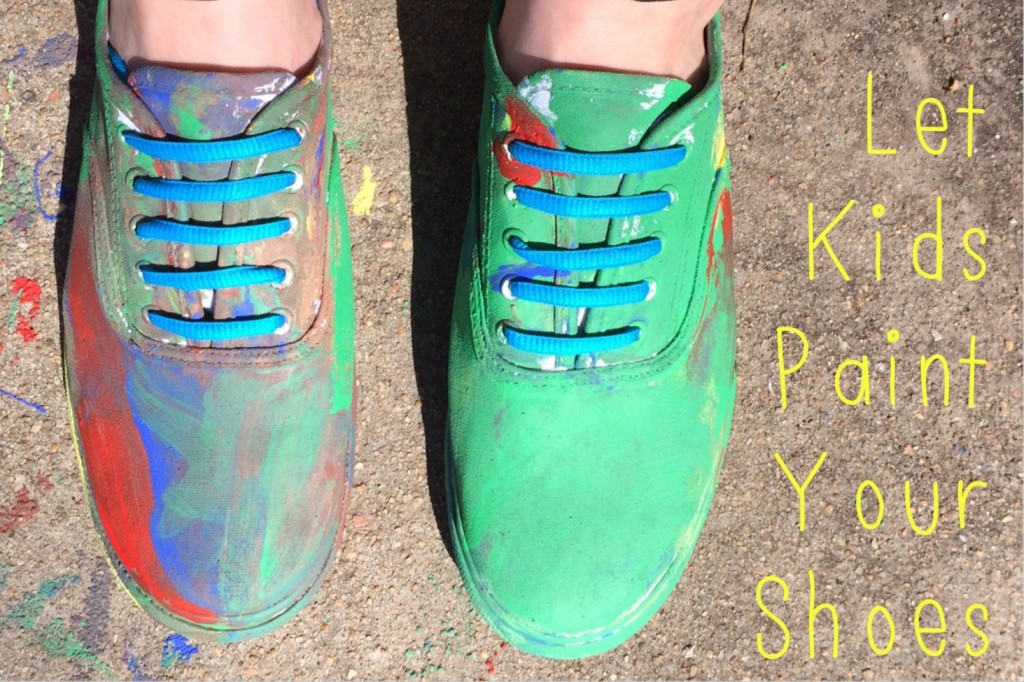 Let Kids Paint Your Shoes