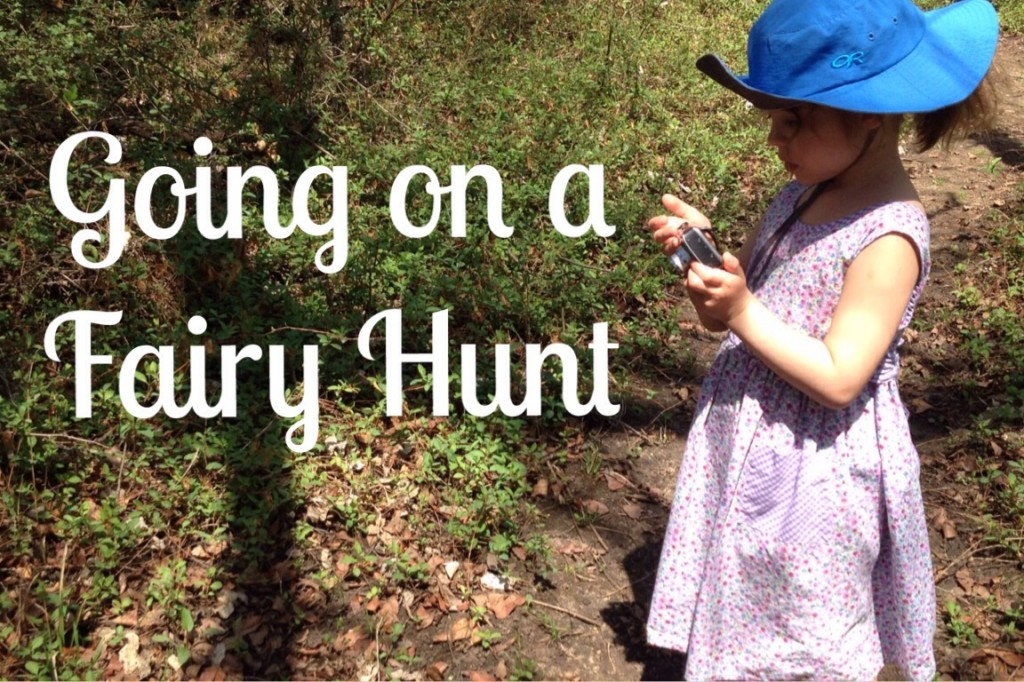 Going on a Fairy Hunt kids