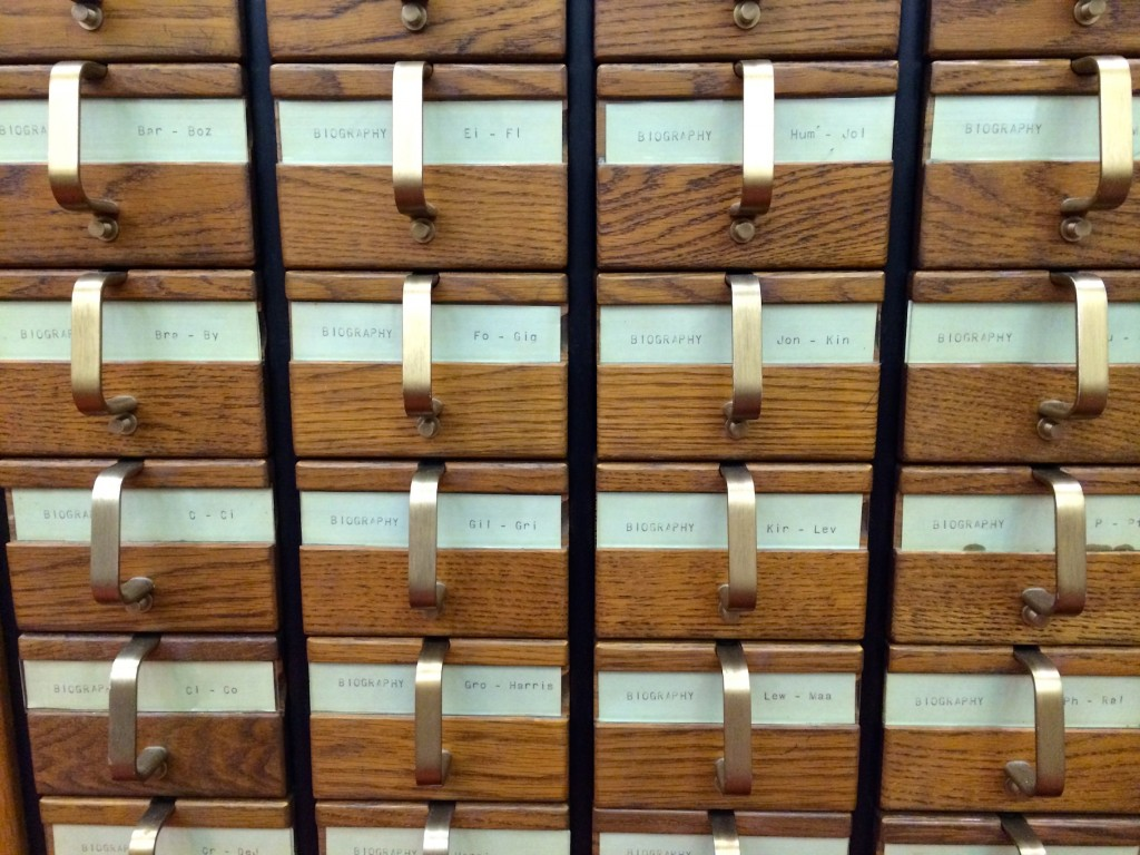 Chattanooga Card Catalog
