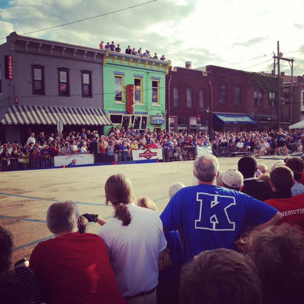 KU Relays Downtown at The Sandbar