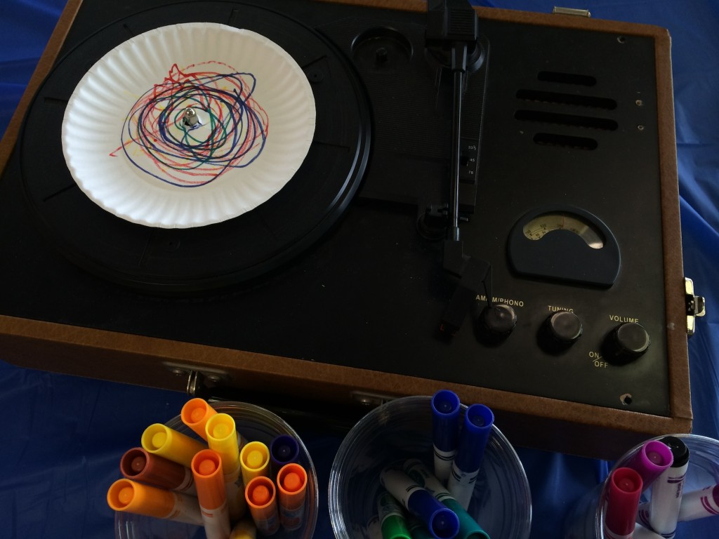 Record Player Art