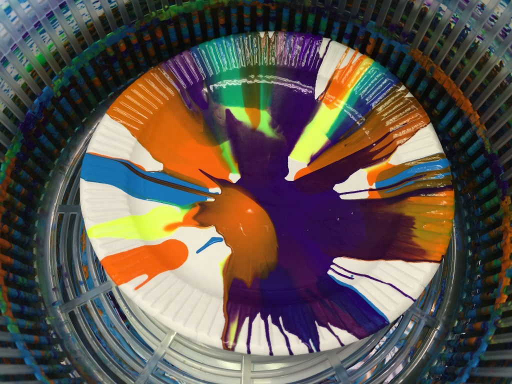 Salad Spinner Art