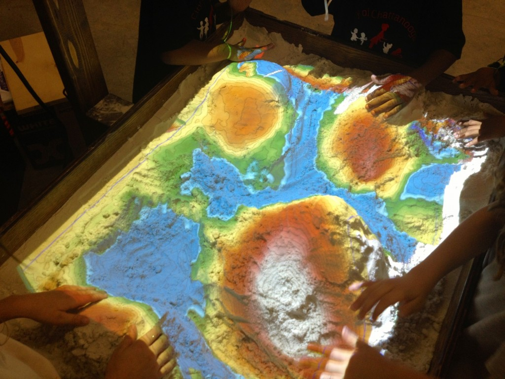 Augmented Reality Sandbox Chattanooga Public Library