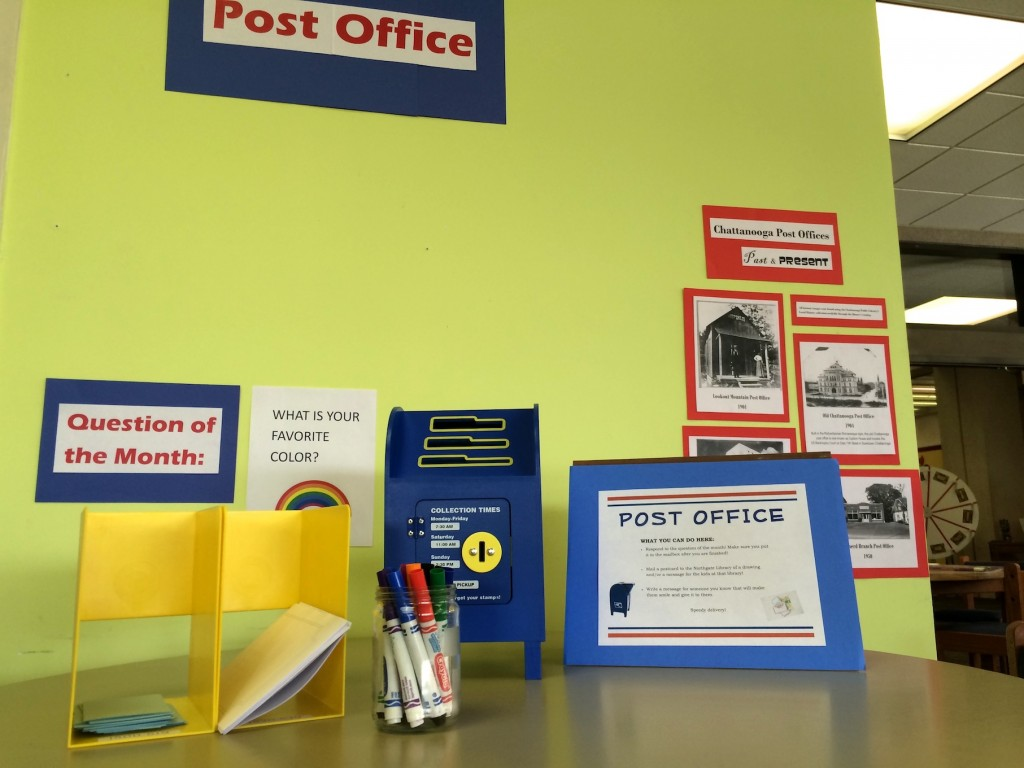 writing center post office for kids