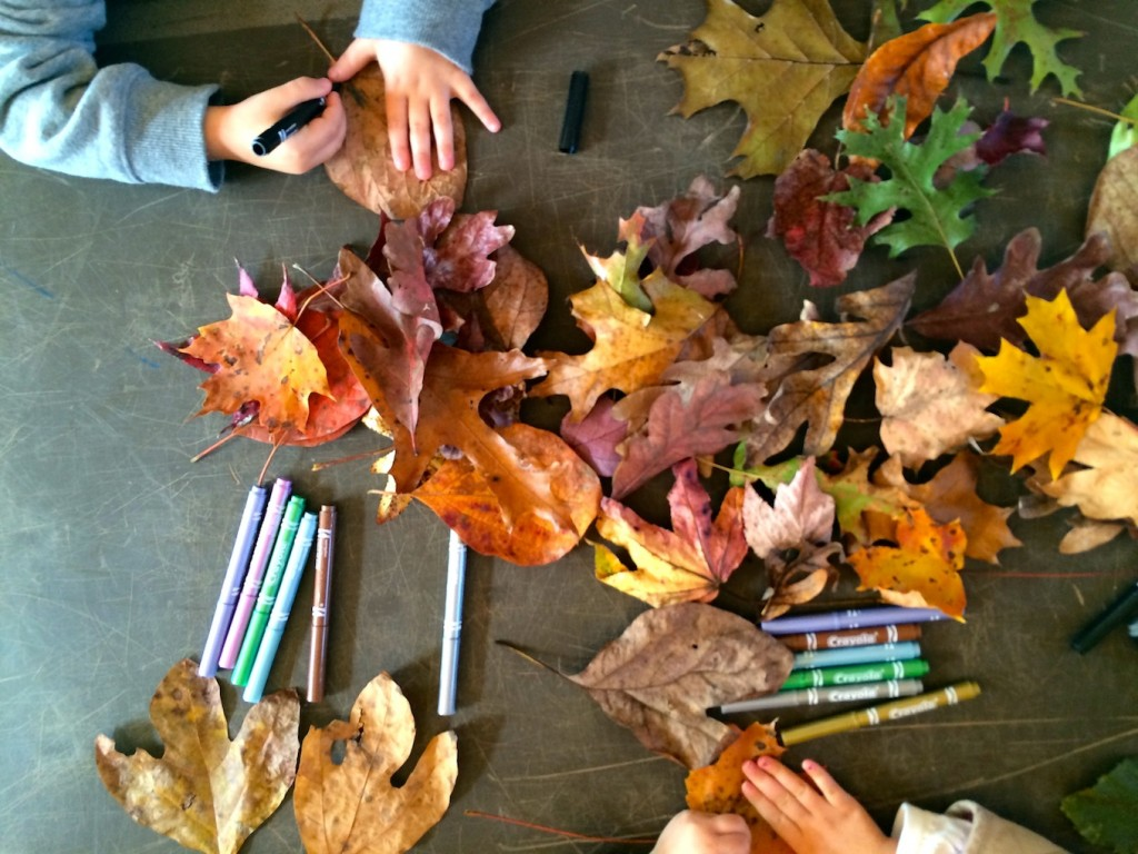 thankful leaves project for kids