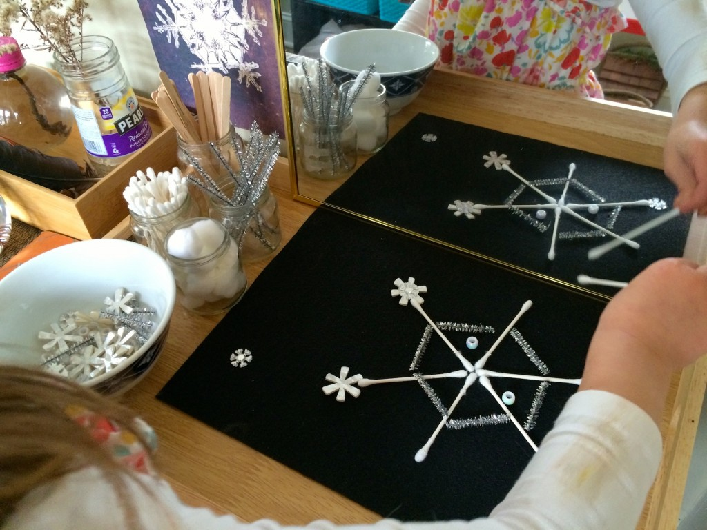 Snowflake Loose Parts Design