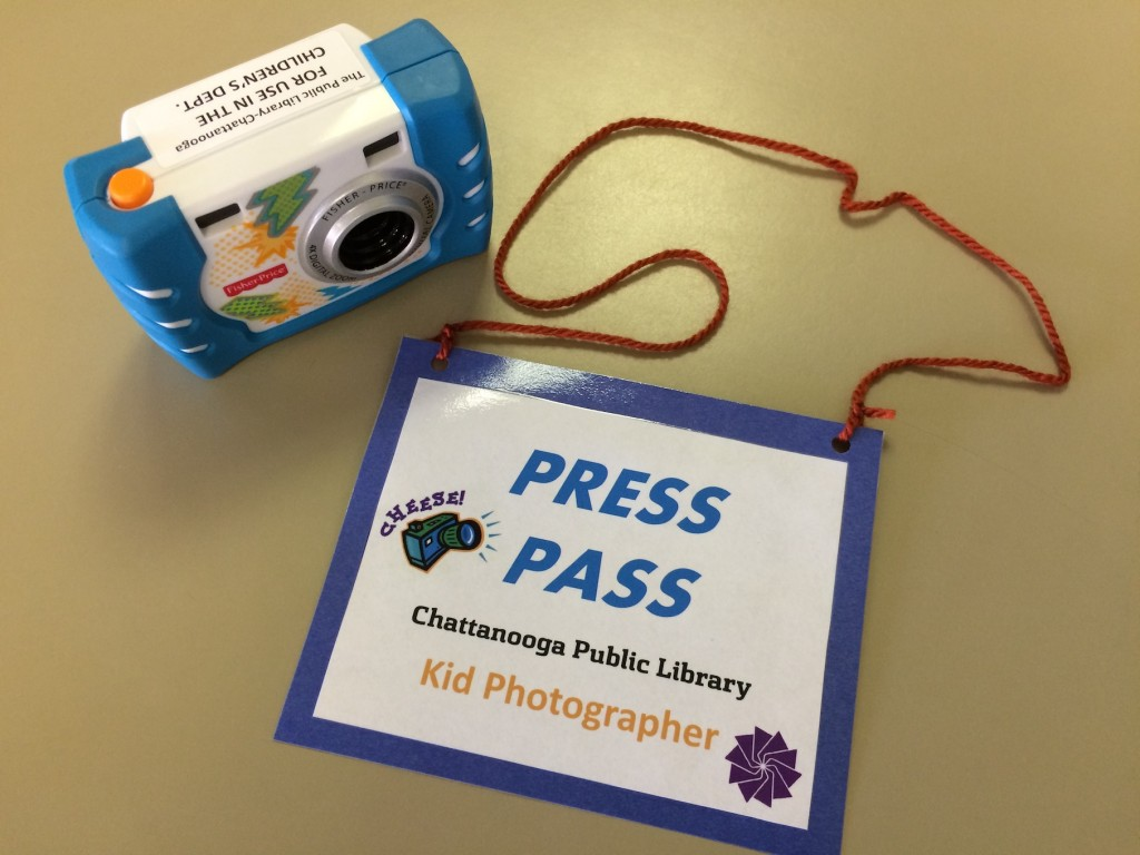 Photography Press Pass and Camera