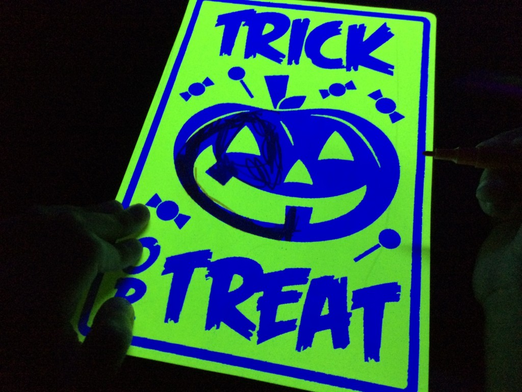 black light booth halloween 2