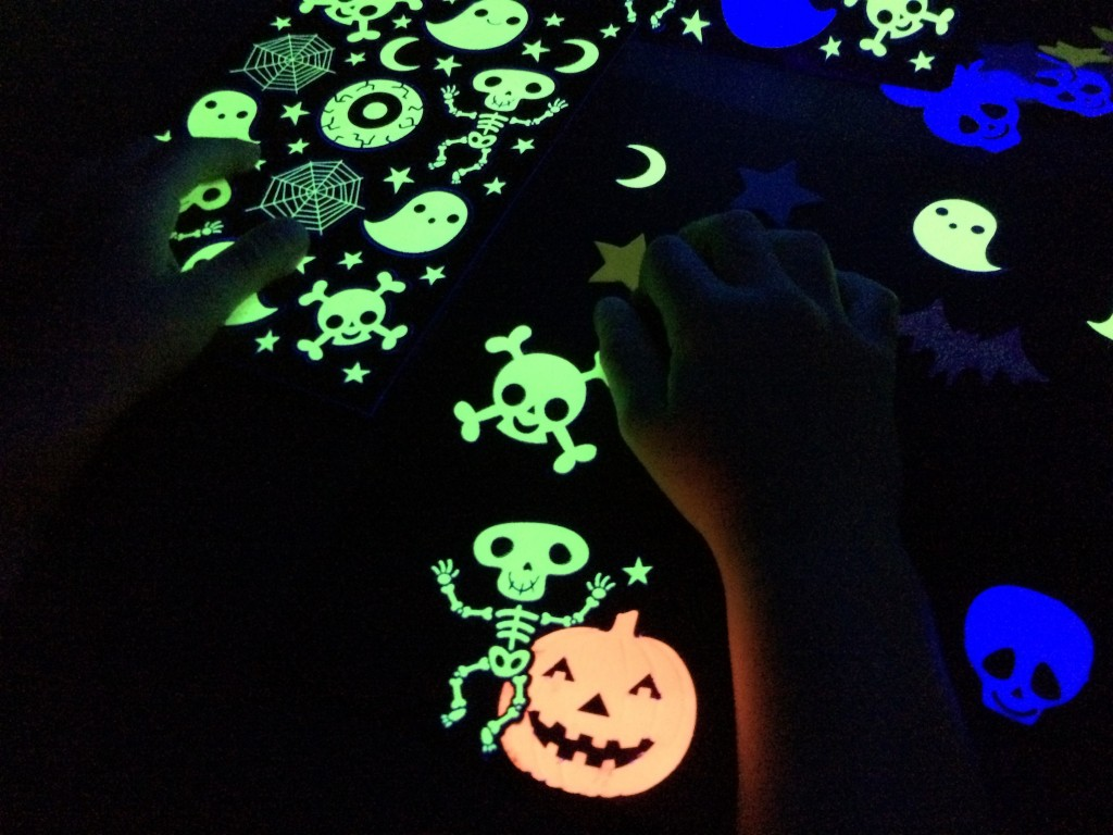 black light booth halloween