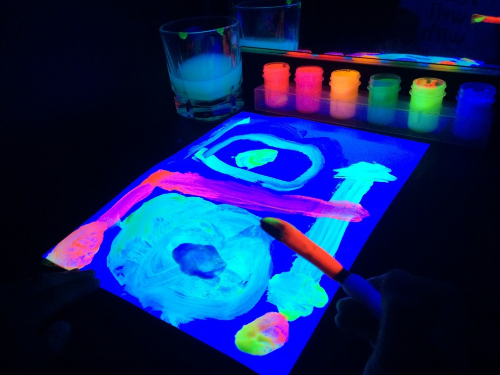 black light booth painting 1
