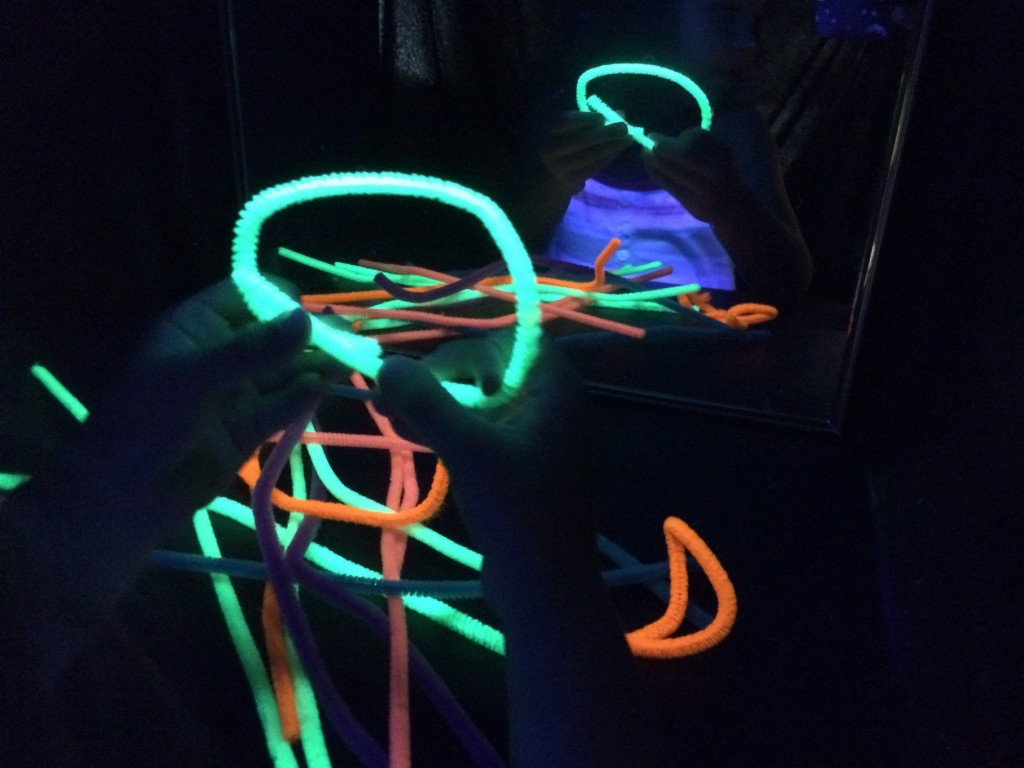 black light booth pipe cleaners 2