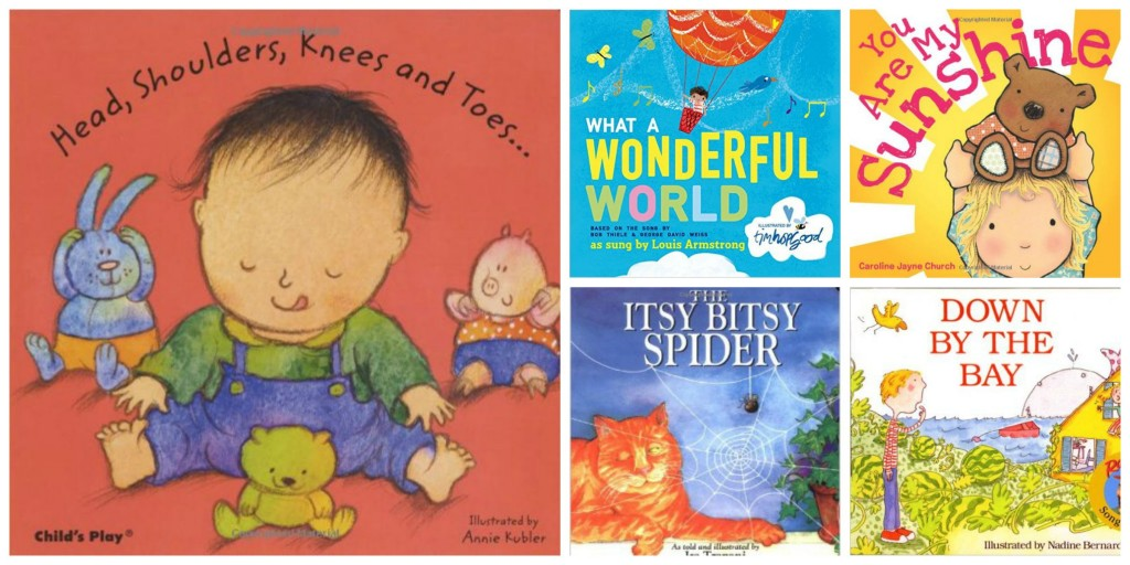 baby books to sing to