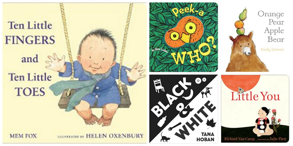 favorite picture books for baby shower