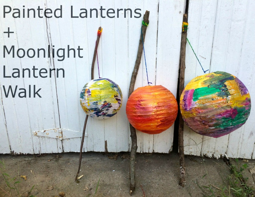 Painted Lanterns Craft and Moonlight Lantern Walk