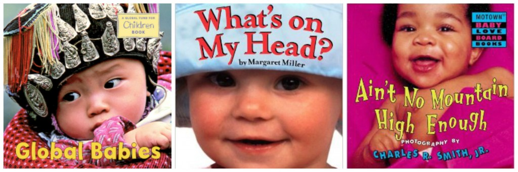 baby books with baby faces