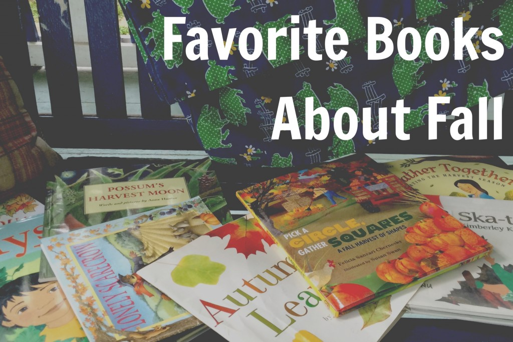 Favorite Books About Fall for Kids