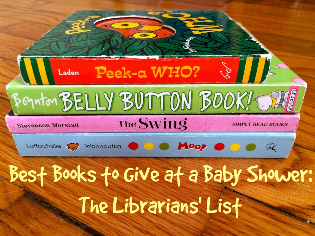 Best Books to Give at a Baby Shower