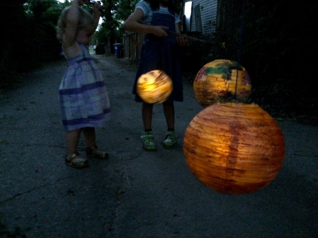 Lantern Walk Kids Activity