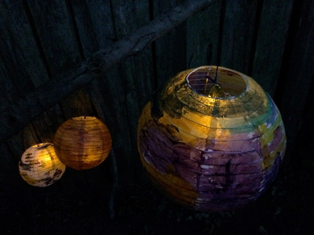 Painted lantern Craft