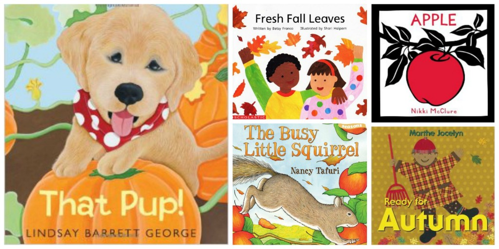 fall books for babies and toddlers