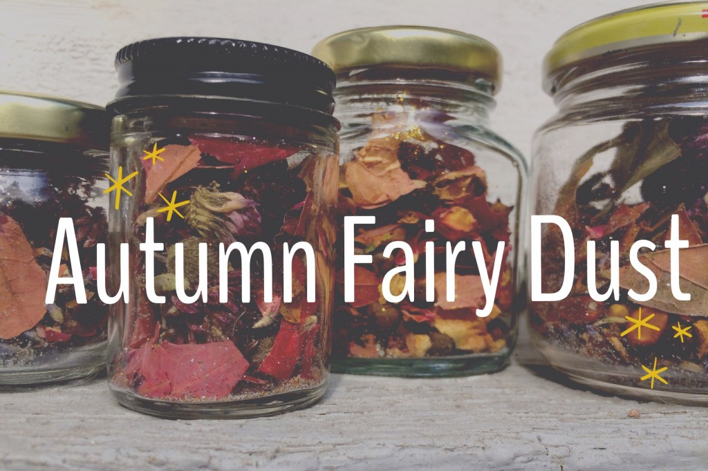 Autumn Fairy Dust Nature Activity