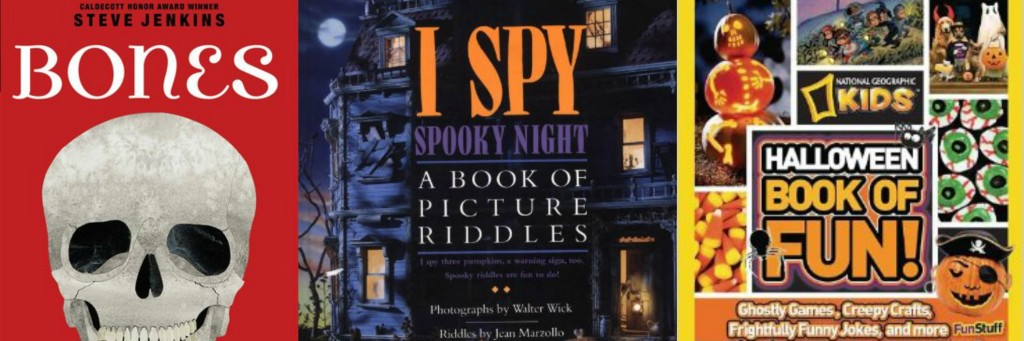 Nonfiction Halloween books