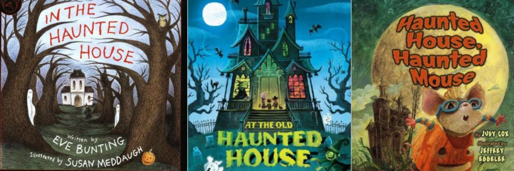 haunted house books