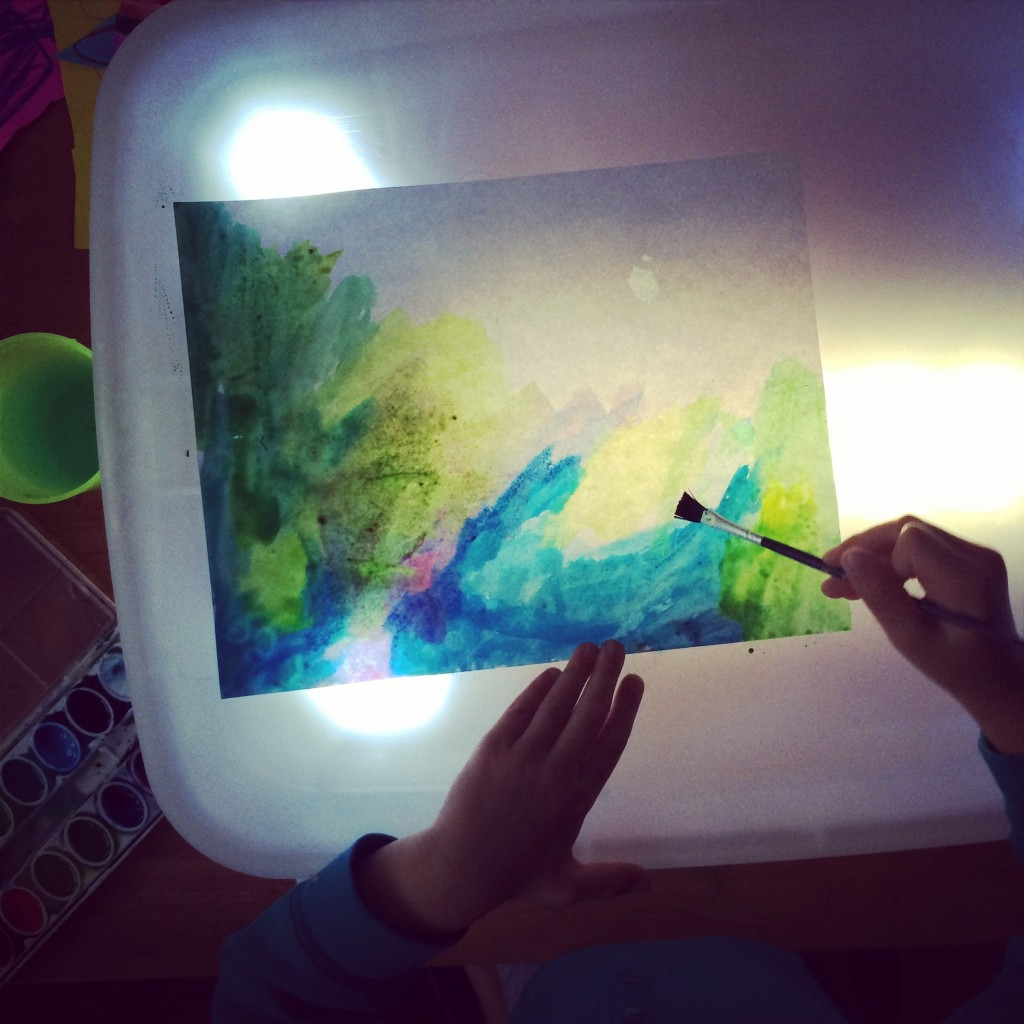 light table watercolors 1