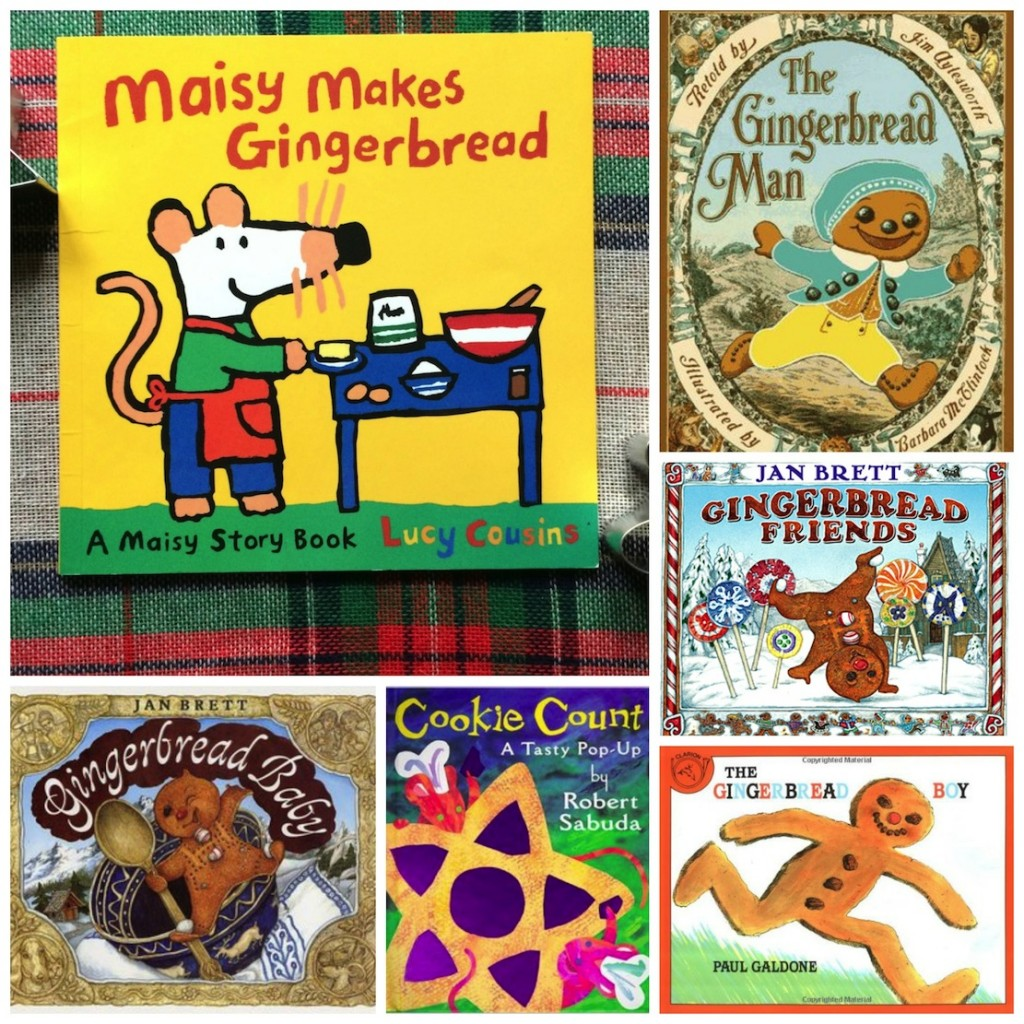 Books about gingerbread for kids