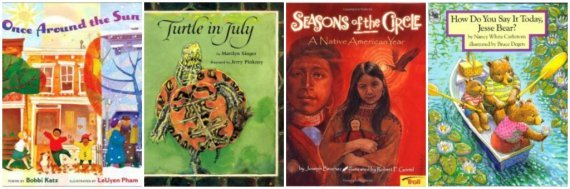 books about months and seasons