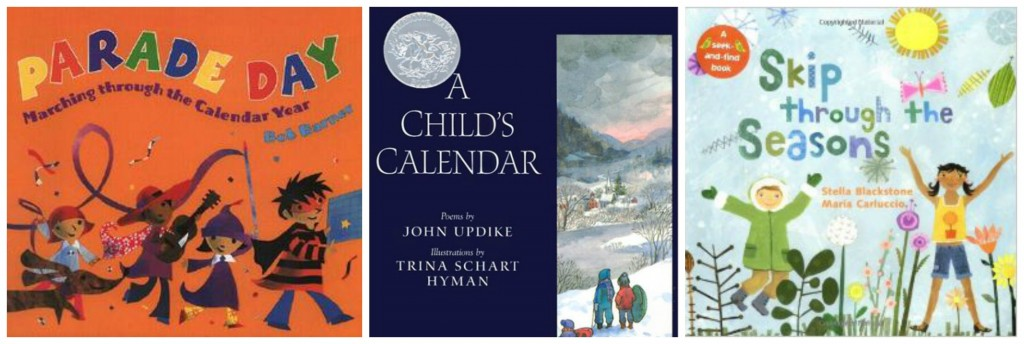 children's books about the calendar year