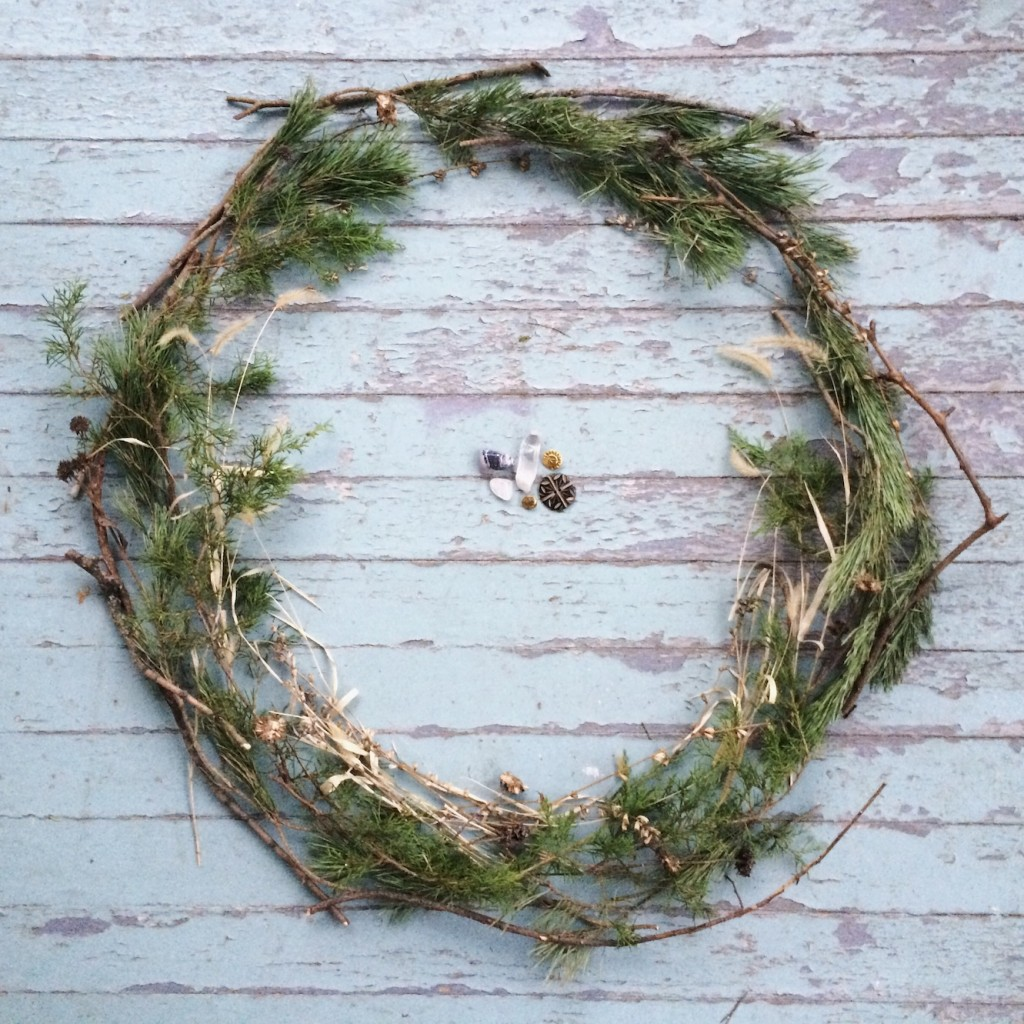 Celebrating the Winter Solstice - How we celebrate including this little tradition of making a Winter Solstic Fairy Ring