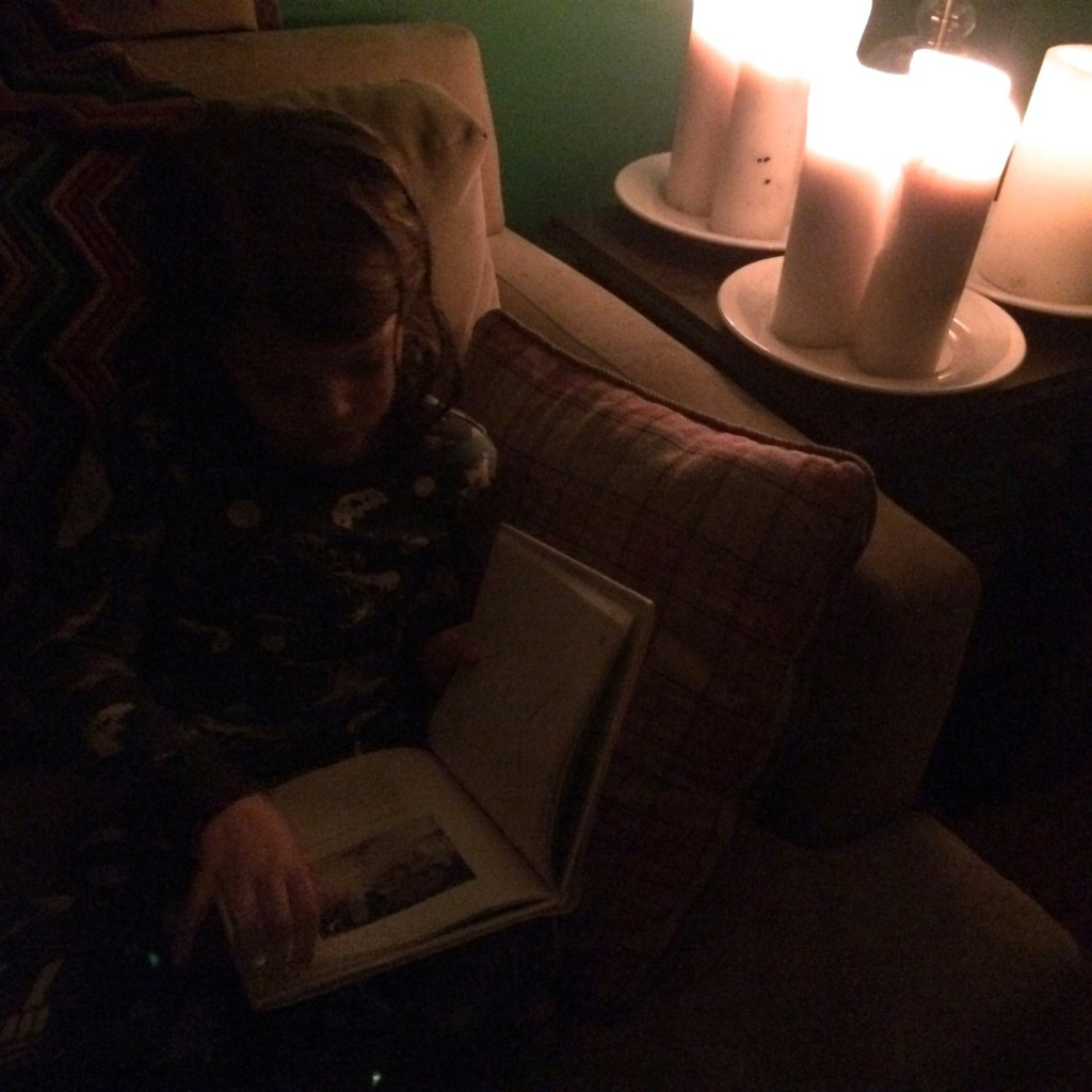 bedtime stories by candlelight for winter solstice