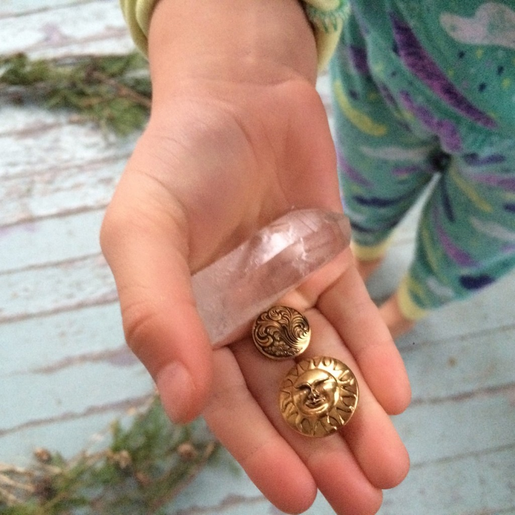 fairy tokens and treasures