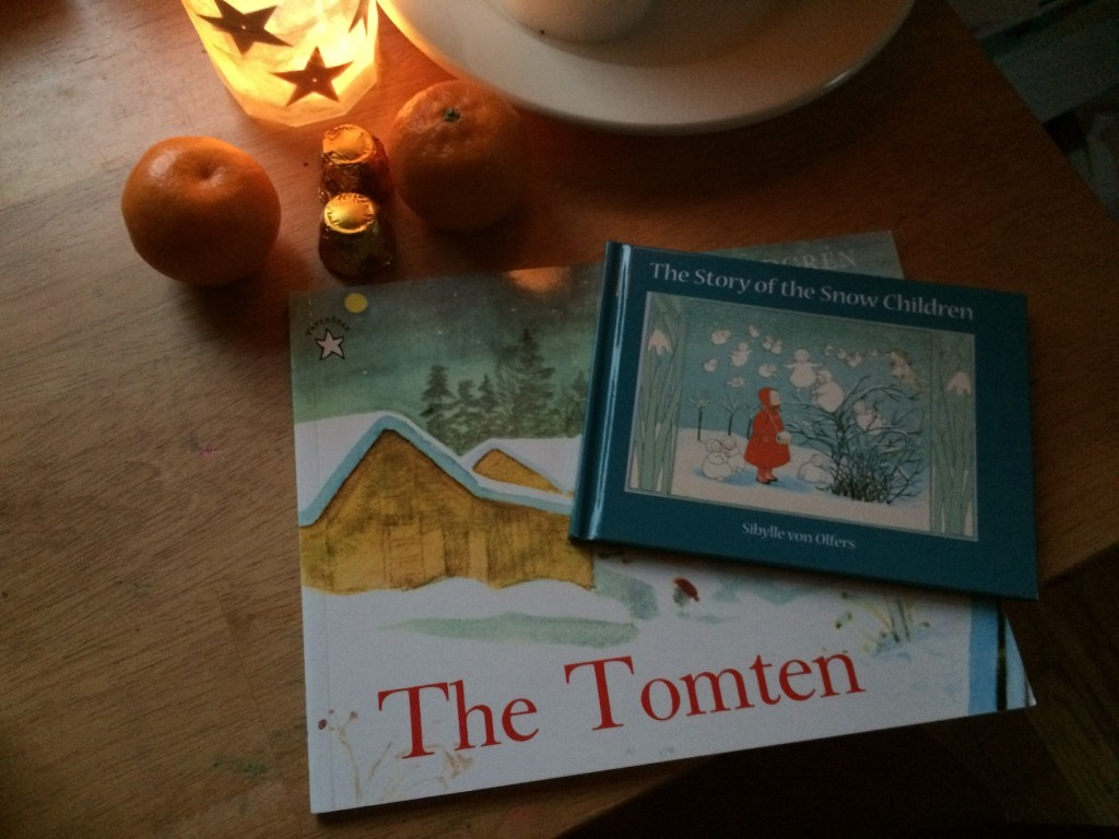 golden gifts and winter books for winter solstice