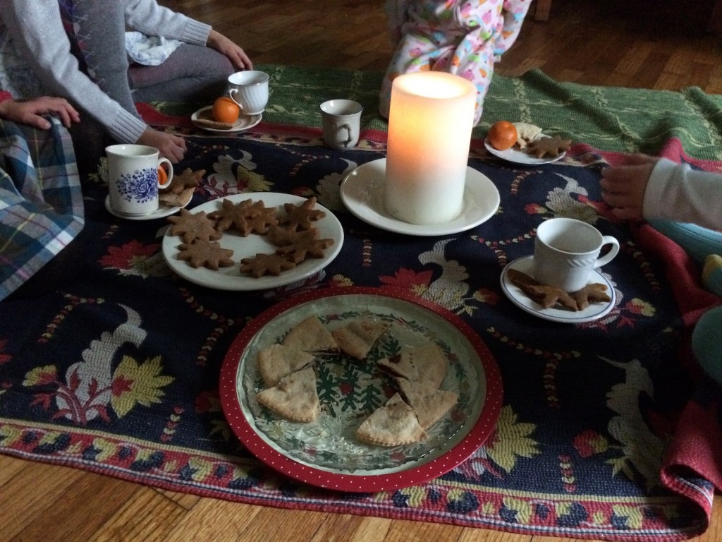 winter solstice tea party