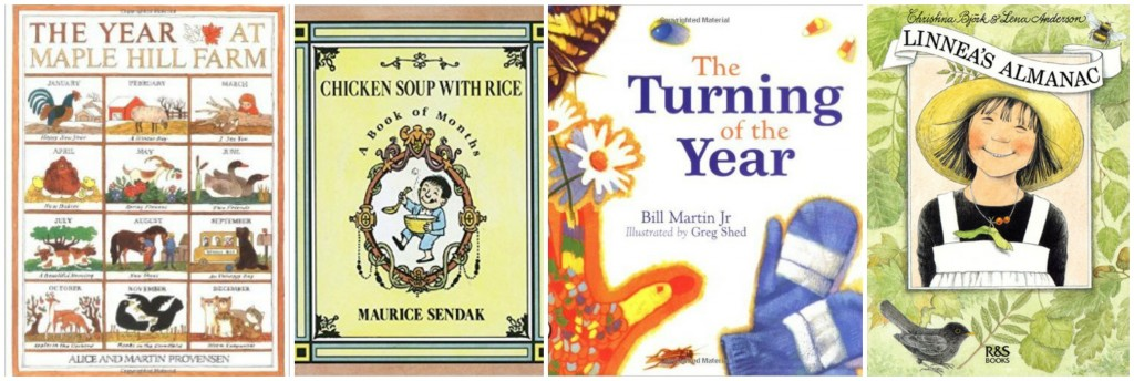 children's books about the months of the year