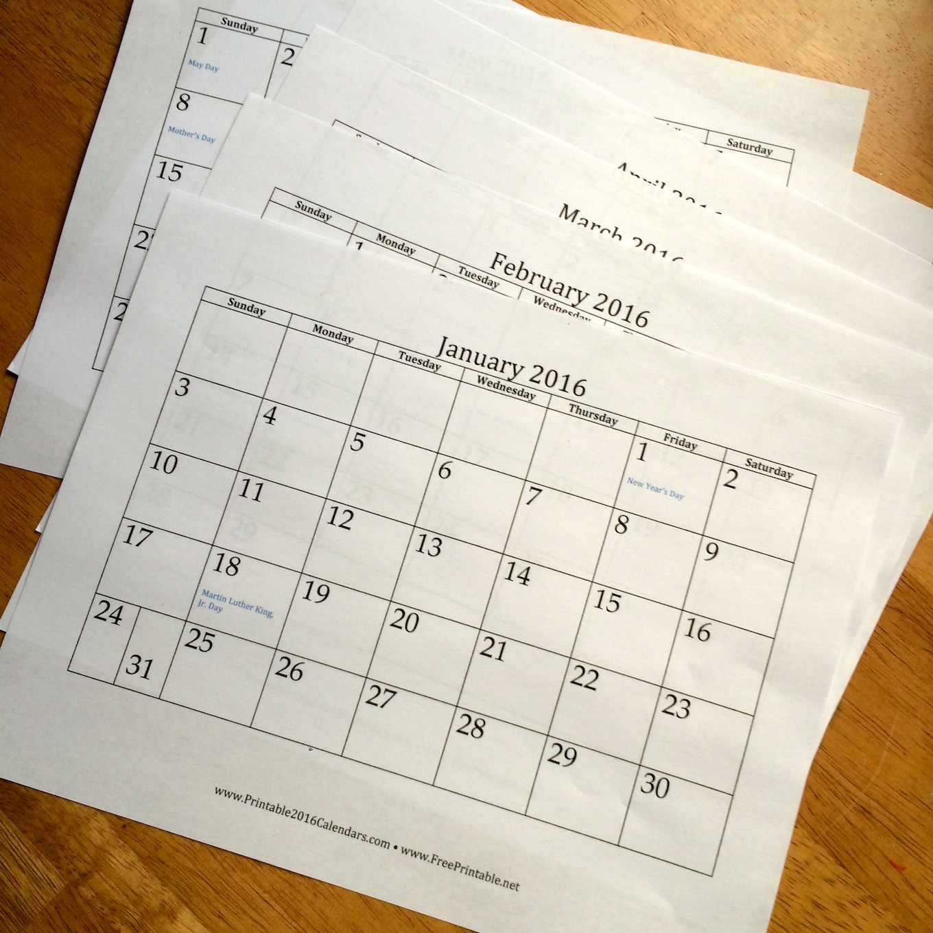 Diy Yearly Calendar : Diy recycled kid s art calendar sturdy for common things