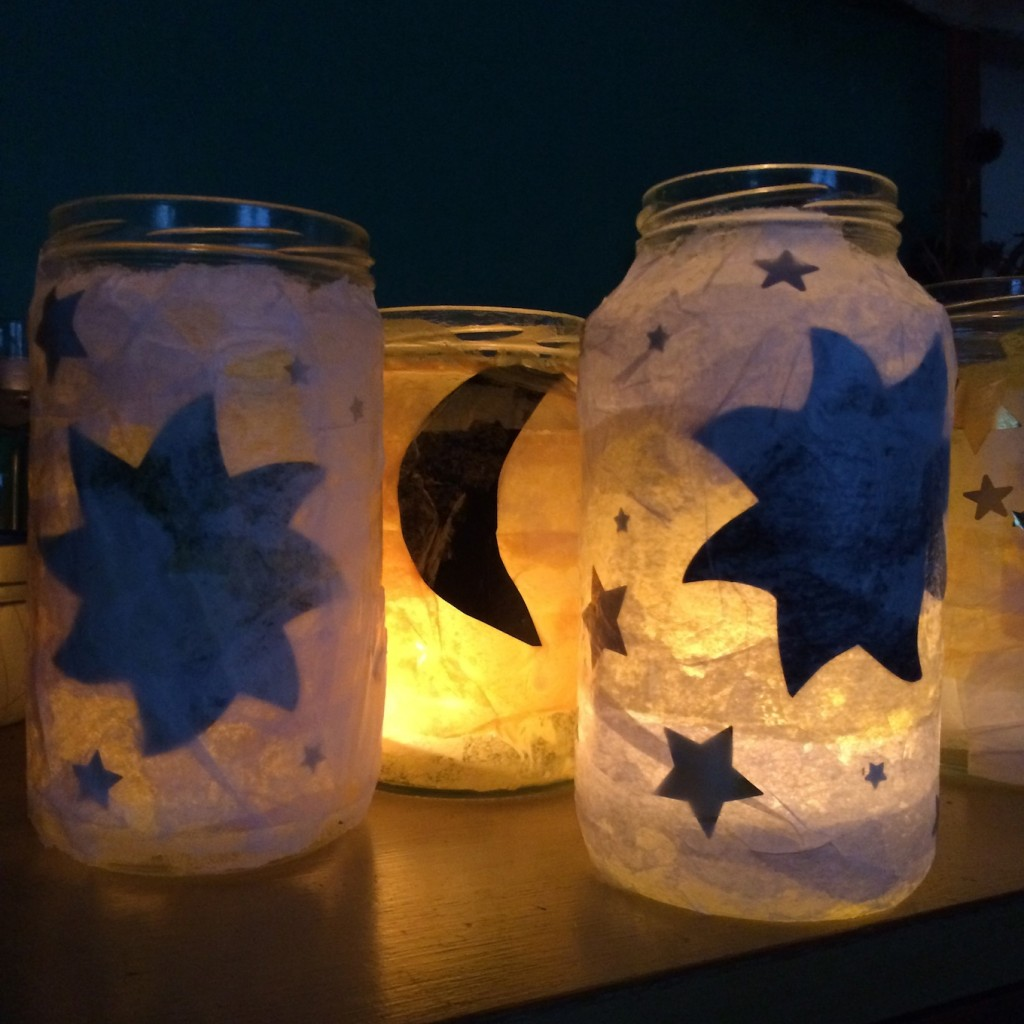 winter solstice lanterns