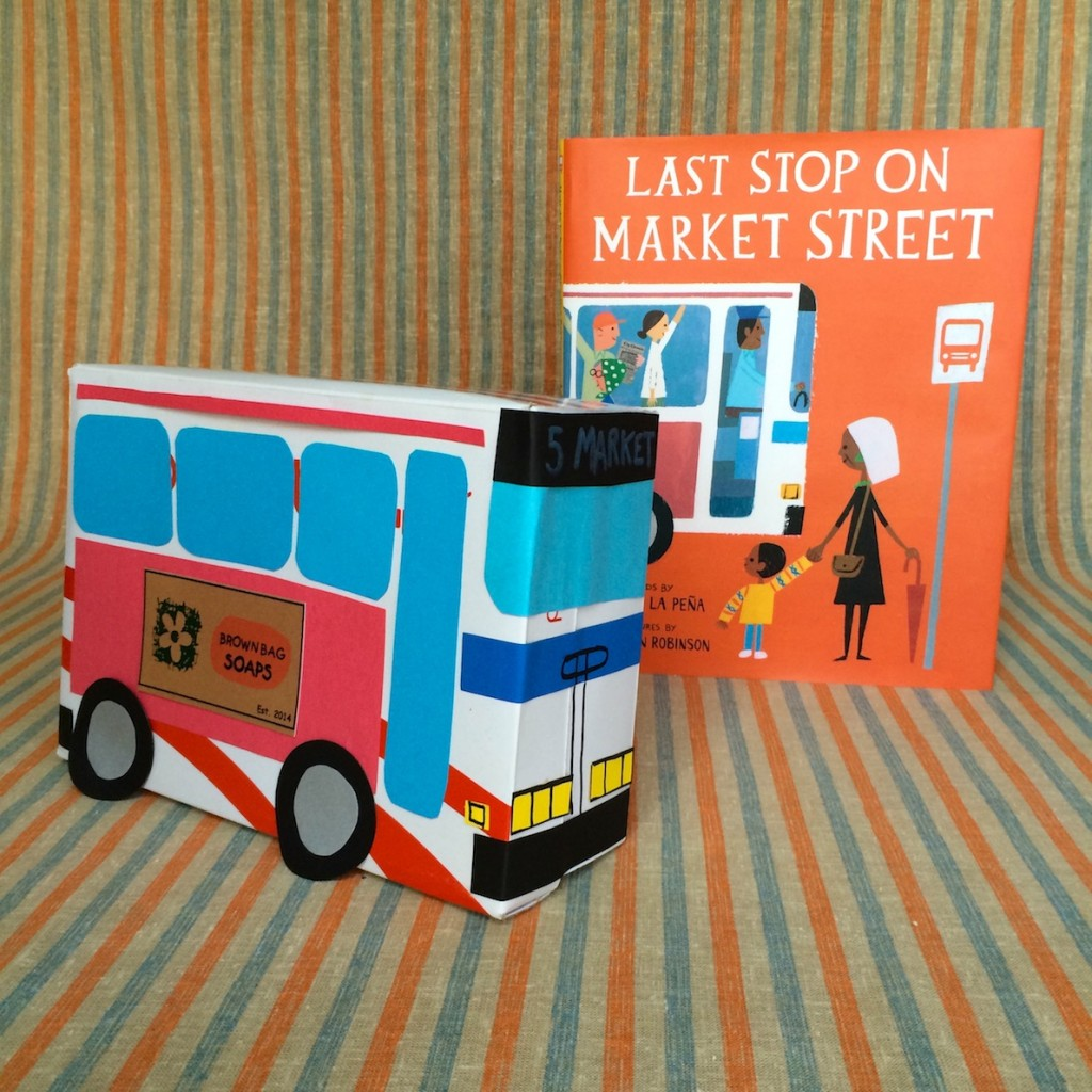 Last Stop on Market Street 3D Bus Collage Activity