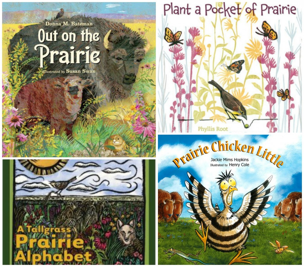Books about Prairie - Kansas Day Activities for Kids