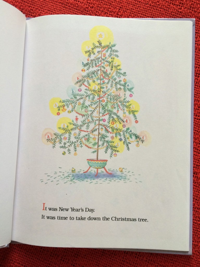 The After-Christmas Tree, a sweet book to enjoy after the holiday season