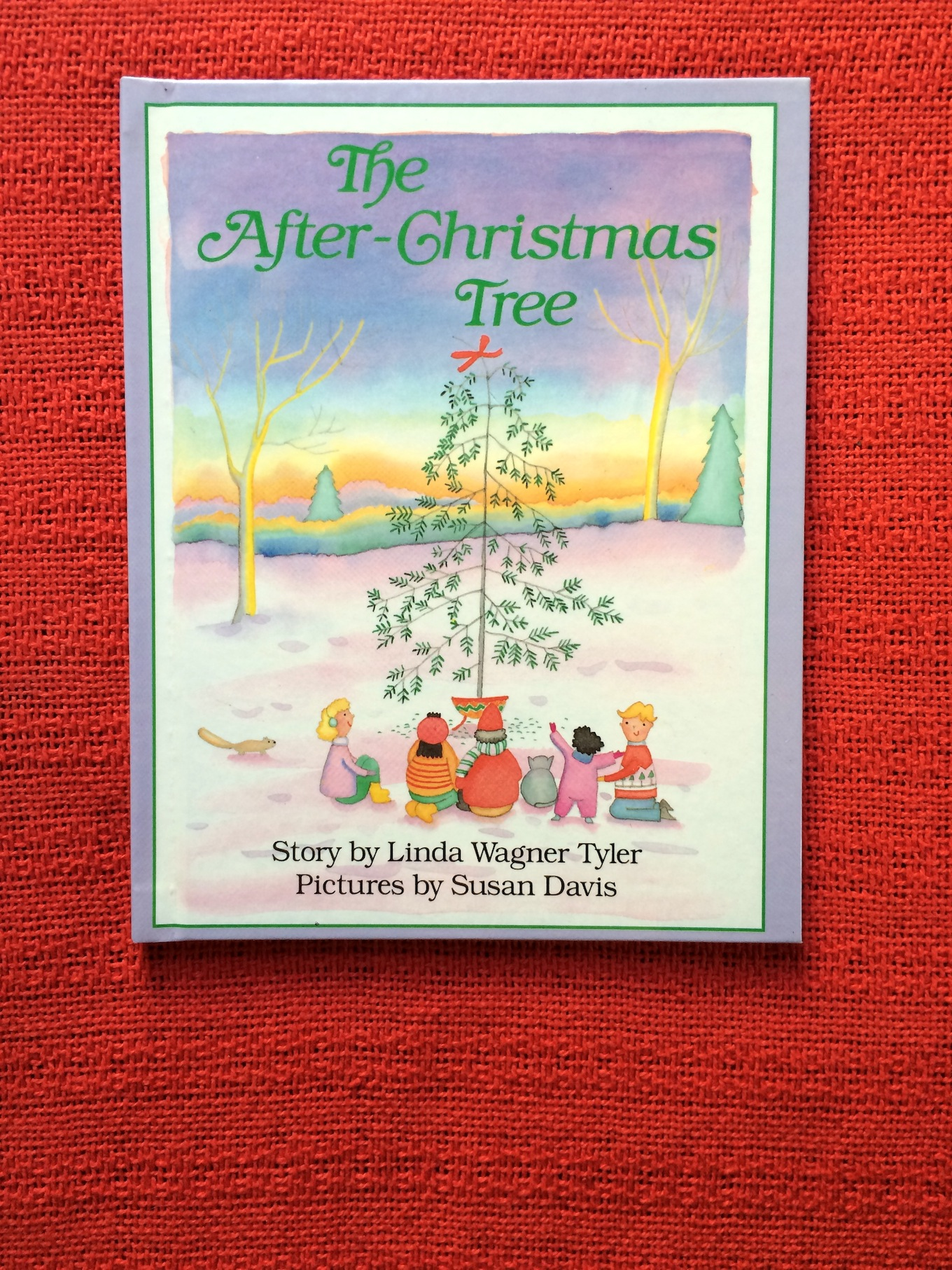The After Christmas Tree By