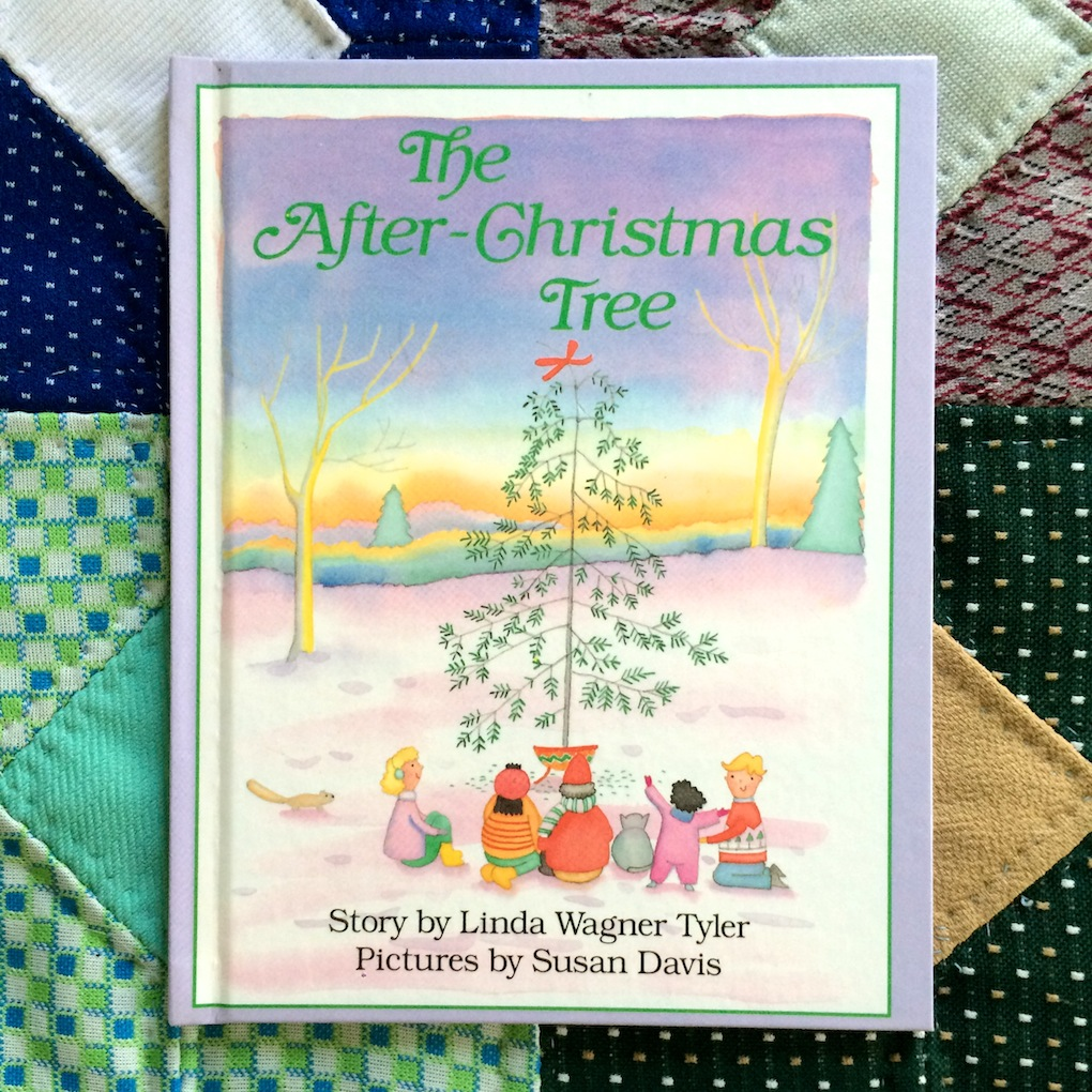 The After-Christmas Tree by Linda Wagner Tyler, pictures by Susan Davis
