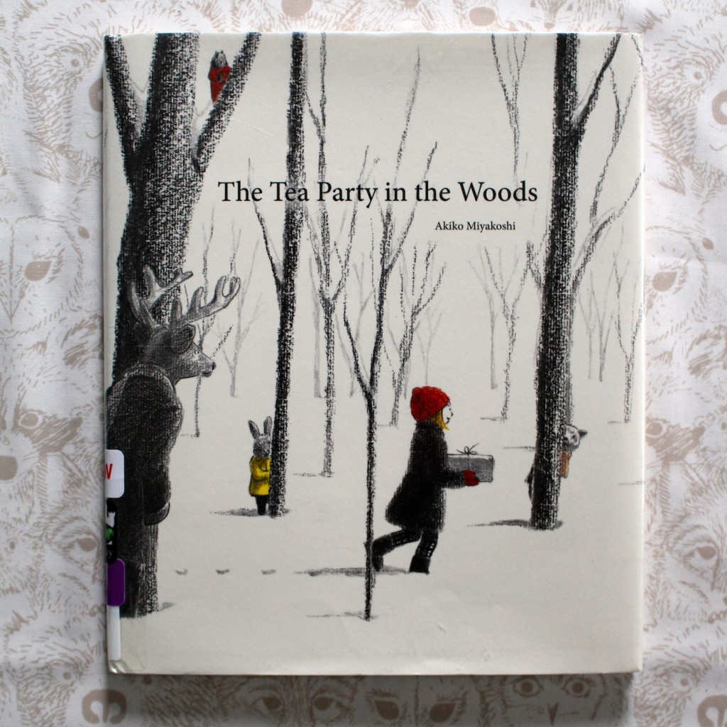 The Tea Party in the Woods by Akiko Miyakoshi + Pie Art Project and Pretend Play
