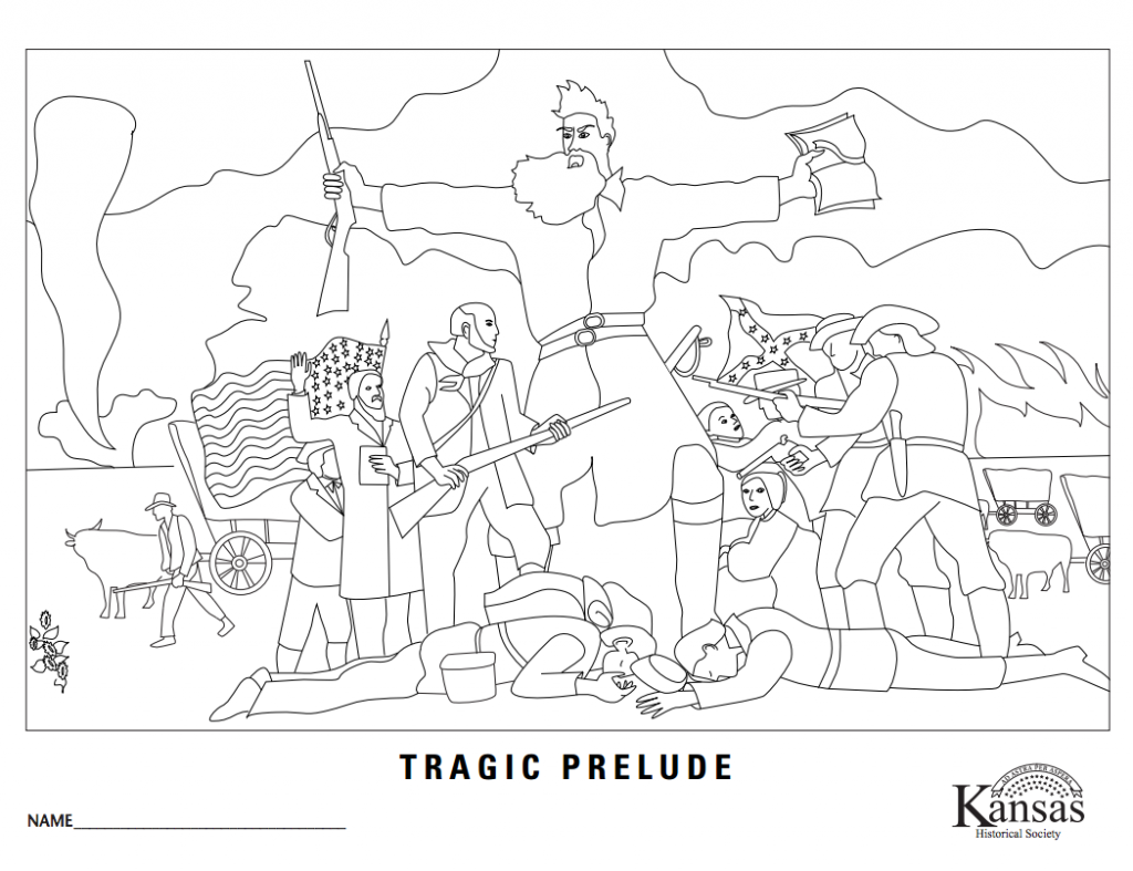 Tragic Prelude Coloring Sheet